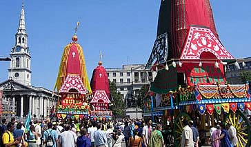 Ratha Yatra in London