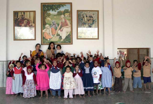 Sandipani Muni School Children