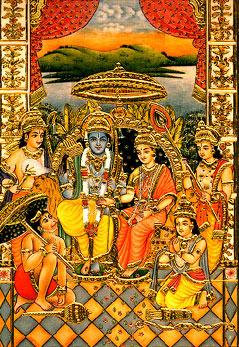 Sri Sita-Ram Lakshman Hanuman