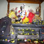 The altar at Hari-hara kshetra