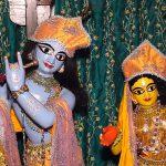 Sri Vrindavan das Thakur's deities