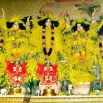 Sri Pancha Tattva Flower Decoration