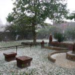 Hailstorm in Vrindavan