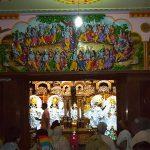 Darshan at the new Imlitala temple