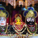 Sri Jagannath, Baladeva, Subhadra, Mayapur