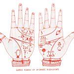 Radharani's Lotus Hands