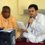 Rasbihari das & Bhakti Vichar Bishnu Maharaj
