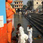 Praying to Hanuman