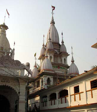 Gaudiya temple in Mayapur