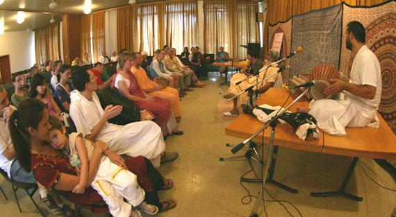 Srila Sadhu Maharaja program