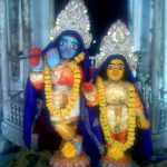 Radha Krishna Deities in Kalna