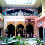 Temple beautification at Sri Rup-Sanatan Gaudiya Math
