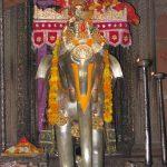 Radharaman Rides Silver Elephant