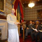 Devotee Teaches Gita to British Parliament