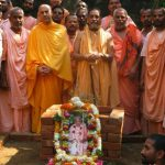 Srila B.V. Puri Maharaja Samadhi ceremony