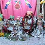 Deities at Sri Gokulananda Mandir