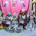 Deities at Sri Gokulananda Mandir