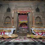 Chappan Bhog Seva at Sri Sri Radha Ramana Mandir