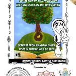 Keep rivers clean and trees green…