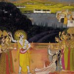 Krishna Celebrates Holi with Gopis
