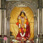 Sri Dhameshwar dressed as Radharani