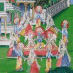 Scenes from Krishna Lila