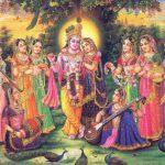 Sri Lalita-devi and Srimati Radharani