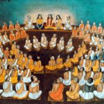 Assembly of devotees