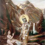 Vishnu Blessing Dhruva