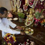 Krishna devotees observe vegetarian Thanksgiving