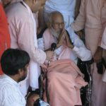 Srila Narayan Maharaj leaves for Puri