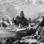 18th century view of Keshi Ghat