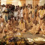 Srila Prabhupada with His Godbrothers
