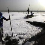 The Hindu: Villagers Battle Yamuna Pollution