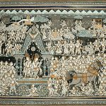 Krishna's Mathura Gaman (Departure)
