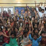Krishna Kids In India's IT Hub