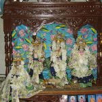 Sri Sri Rama Chandra – Srimati Sita Devi – Sri Sri Lakshmana & Hanumana worshiped by Srila Prabhupad