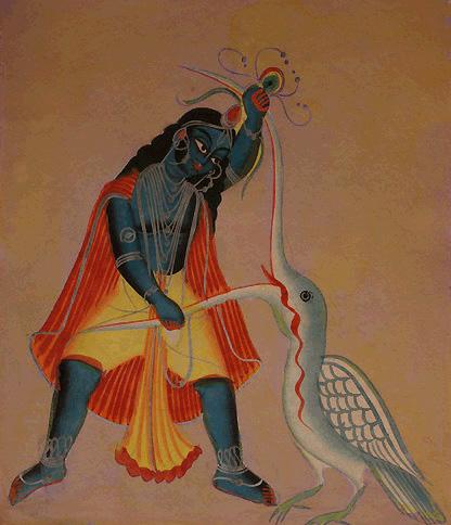 krishna-bakasura