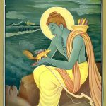 Lord Rama and the squirrel