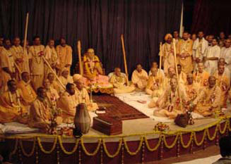 SGVA Meeting in Iskcon Mayapur, 2003