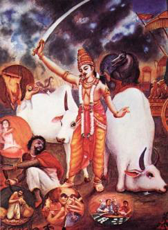 Maharaja_Pariksit_punishes_Kali
