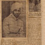 Back from Europe with two German devotees (The Bombay Chronicle 1935)