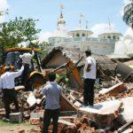 Campaign against the demolition of Srila Prabhupada's bhajan kutir in BBSR