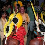 Kirtan with the natives of the Amazon at Rio+20 Summit in Brasil