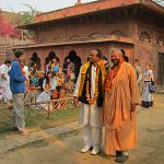 Vrindavan mayor visits Vrinda Mission on Prabhupada's disappearance day