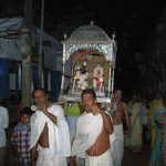 Sri Sri Radha Vrindavan Chandra Nagar Parikrama with candle-light procession