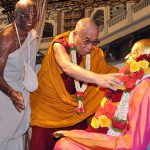 His Holiness the Dalai Lama visits ISKCON Bangalore