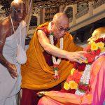 His Holiness the Dalai Lama visits ISKCON Bangalore