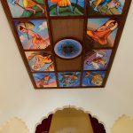 Ceiling Art, Nandafalva Temple, Hungary