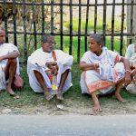 Vaishnava Pilgrims on Bhaktisiddhanta Road, Mayapur